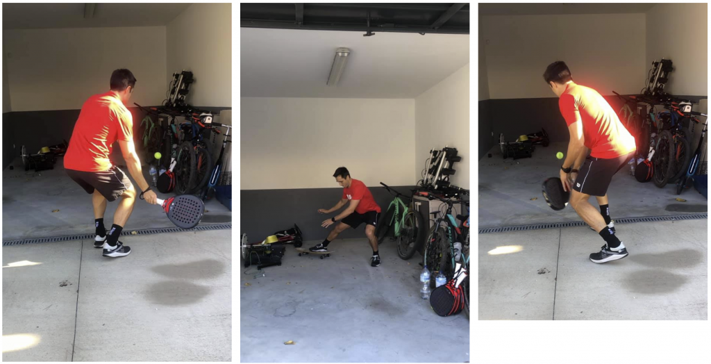 Bela : le garage comme centre d'entraînement