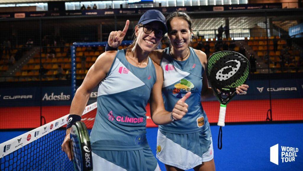 Gemma Triay Lucia Sainz Campeonas Cupra Las Rozas Open 2020