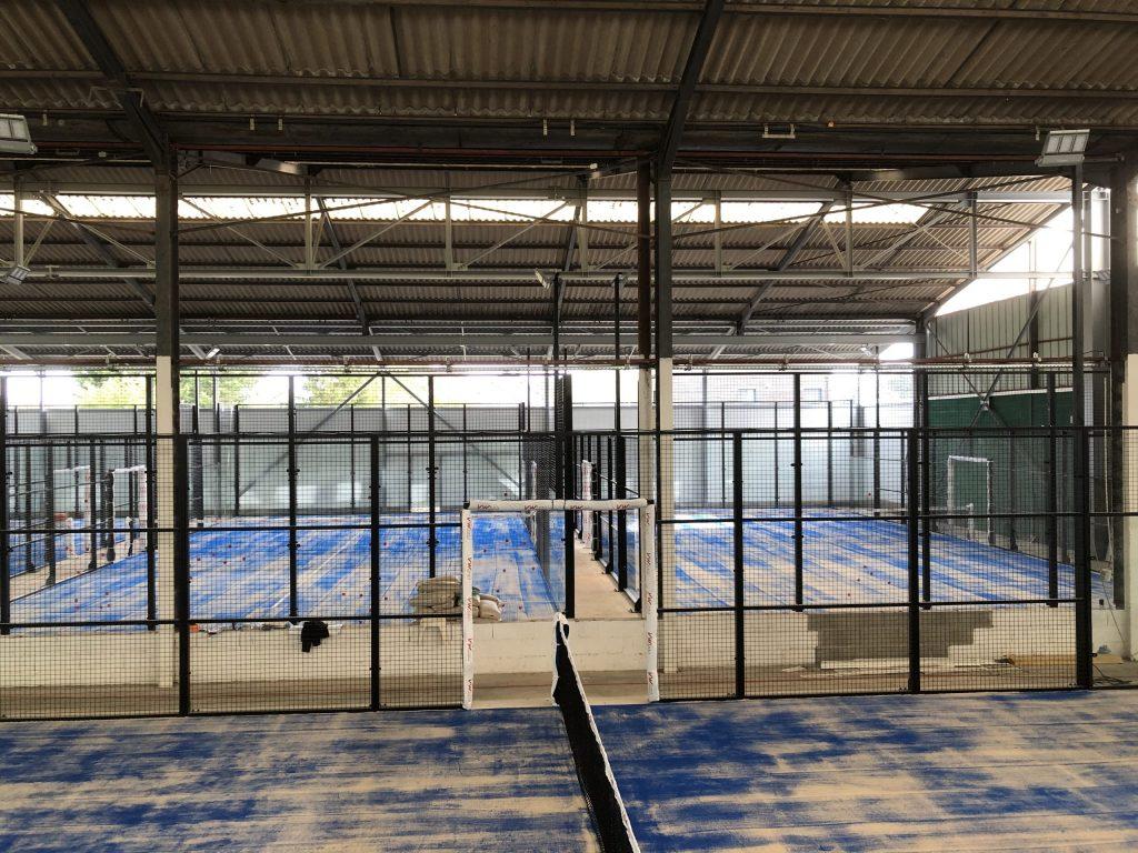 LET PADEL : nuovo club al coperto a Orléans