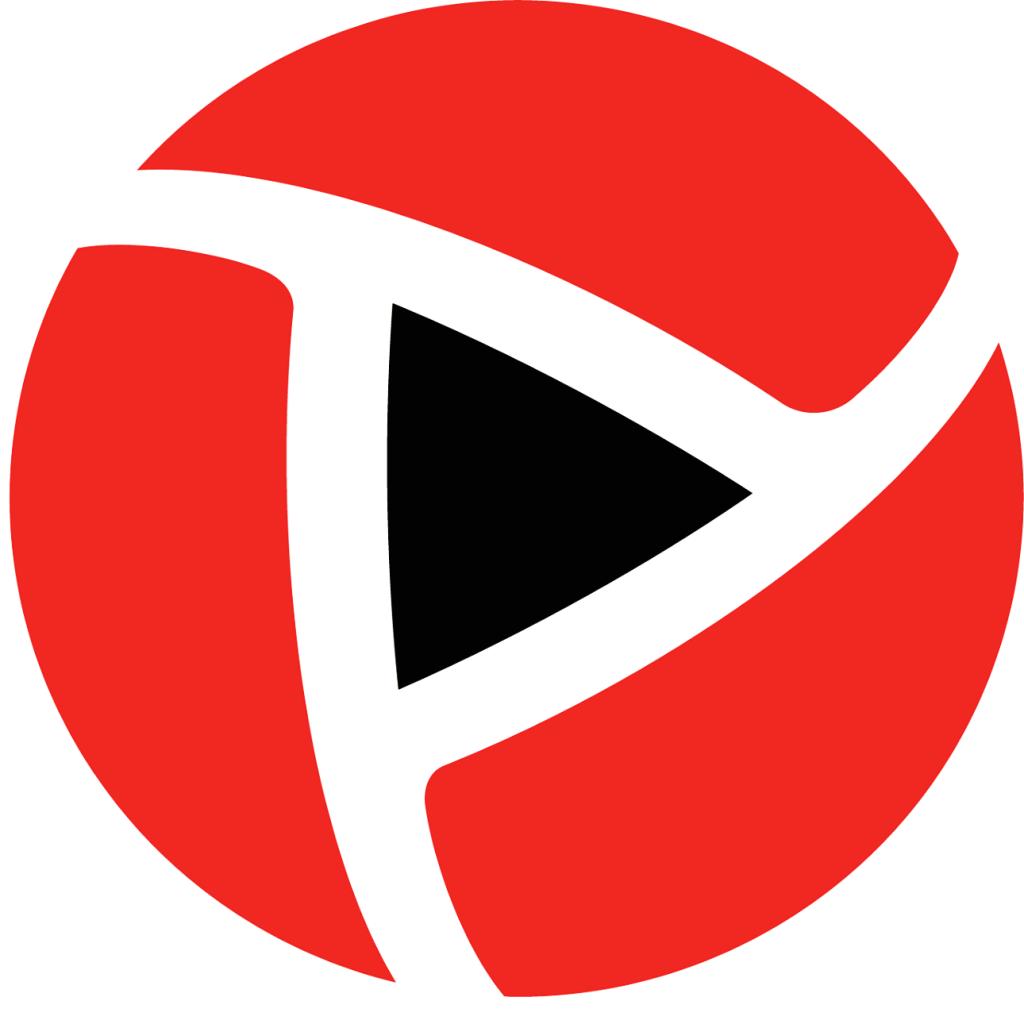 ngtv erfarenhetslogotyp röd och svart padel och fotboll
