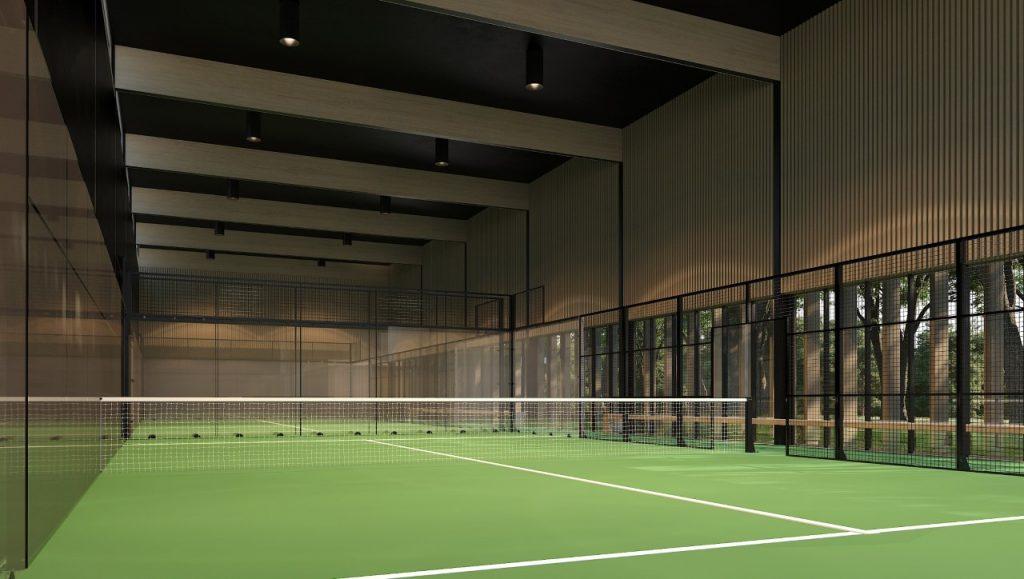 padel club adare manor hotel court indoor