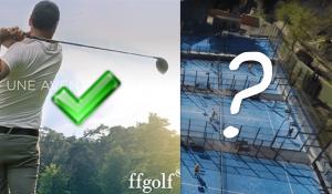 padel golf covid 19 autorisation ouverture clubs