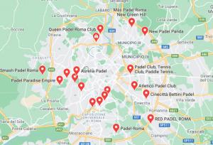 padel rome italie carte
