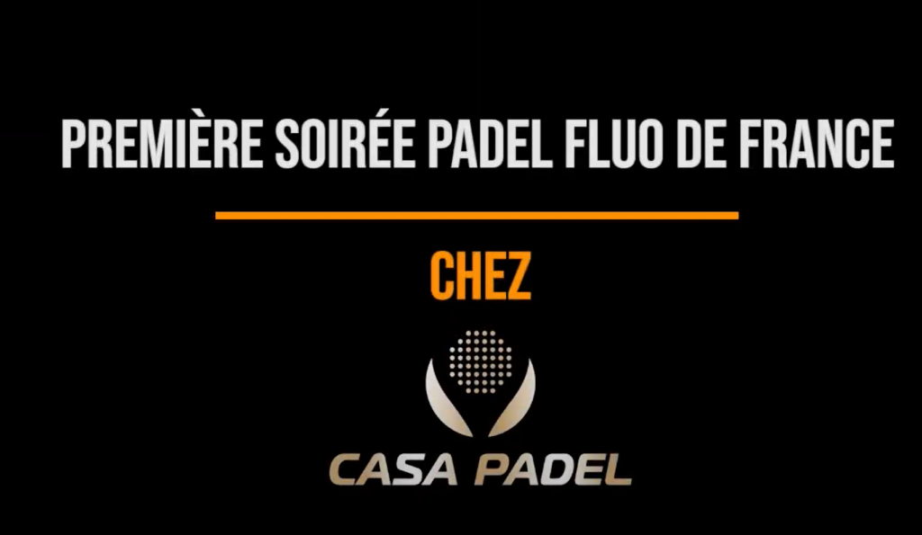 first fluorescent casa party padel