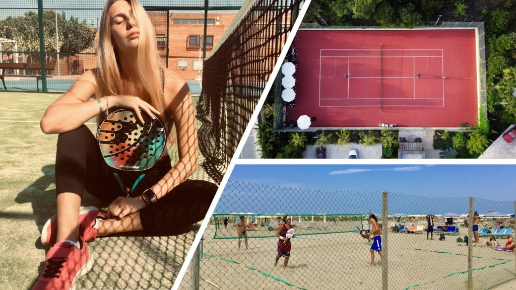 tennis padel beach tennis confinement FT