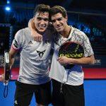 Ale Galan Juan Lebron pose victoire master final