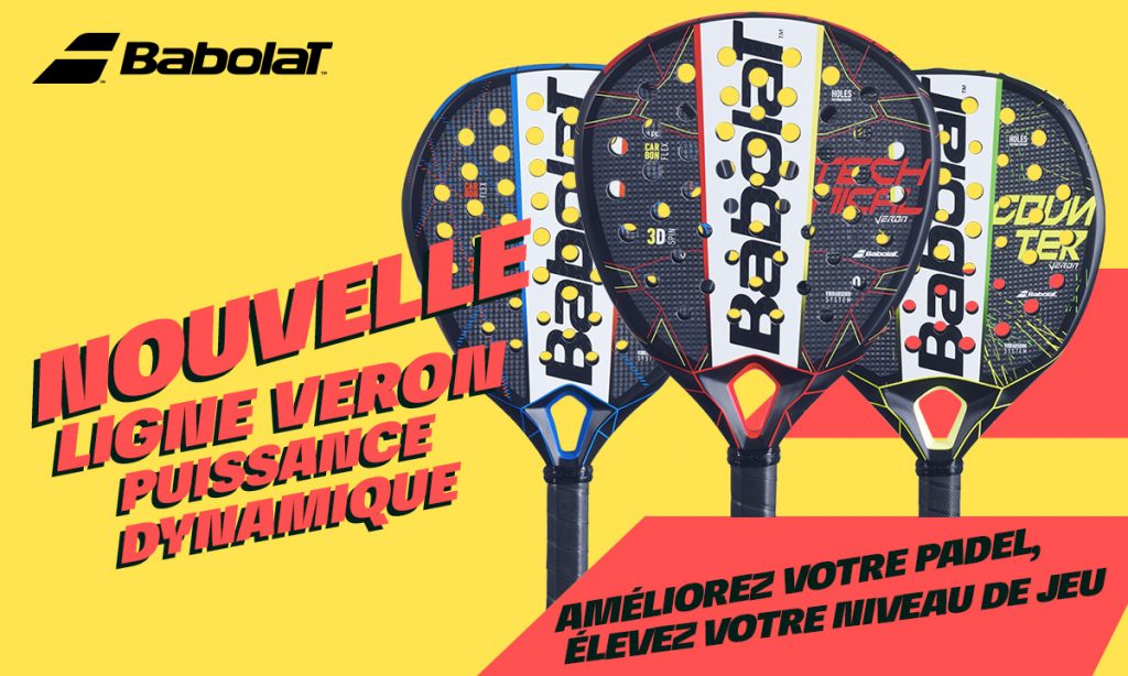 Jeu concours Babolat Padel : gagnez les 3 Veron 2021