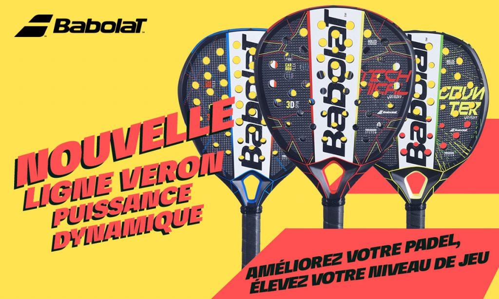 Gioco della concorrenza Babolat Padel : vinci il 3 Veron 2021