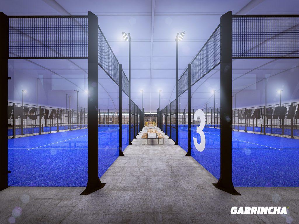 Couloirs indoor Garrincha