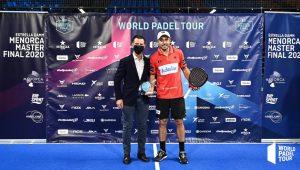 Fernando Belasteguin MVP Menorca Master Final WPT 2020