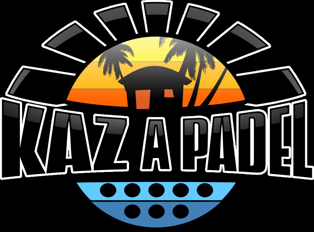 KAZ A PADEL logotipo da reunião
