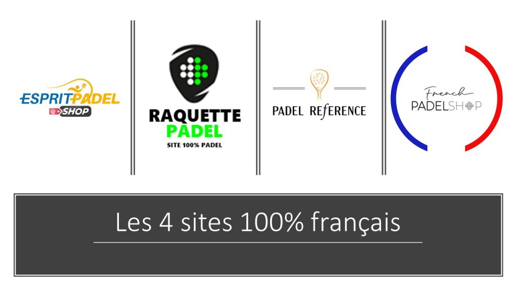 Les shops de padel : 4 sites à retenir !