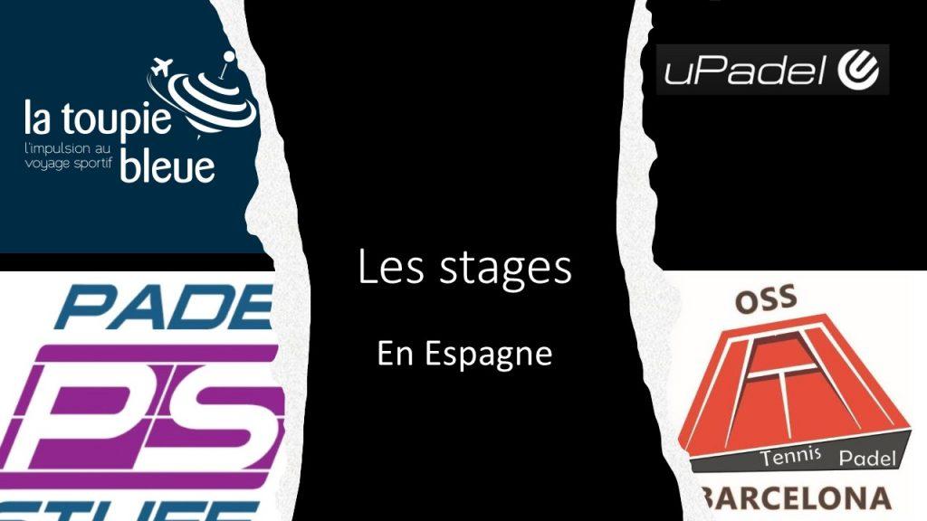 Stages padel in Spanje