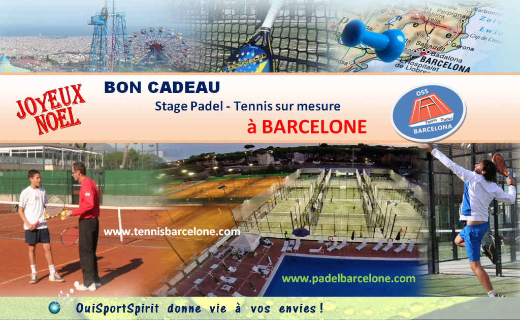 OSS Barcelona: a gift voucher for an internship padel