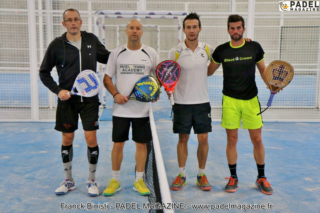 Le super tie-break épique des Championnats de France de padel 2015