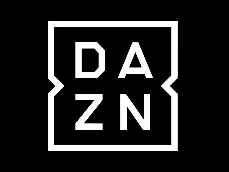logotipo dazn preto e branco