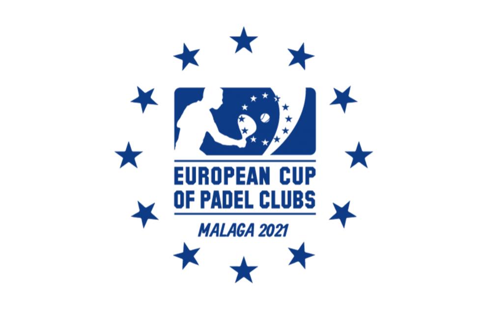 欧州の padel カップ2021マラガロゴ