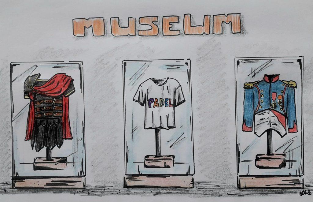 musée du padel humour