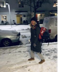 neige padel suède sac