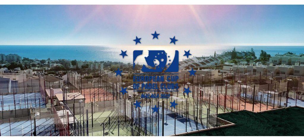Den europæiske klub af klubber padel 2021 med 24 europæiske klubber