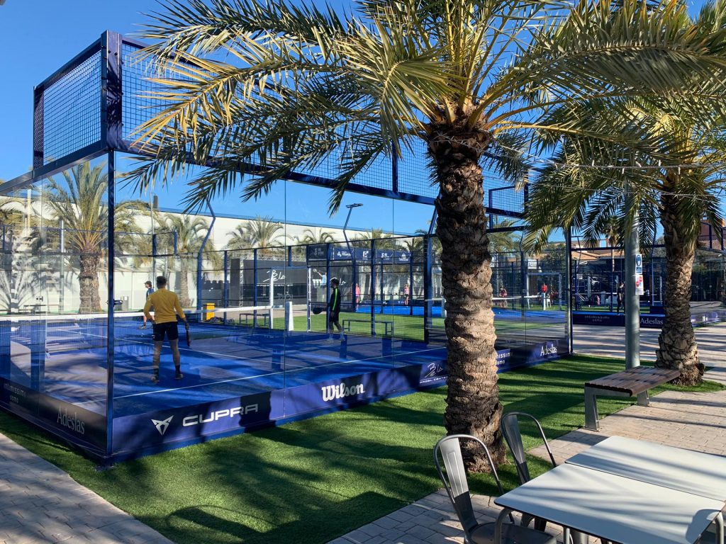 pistes de padel outdoor bela padel center