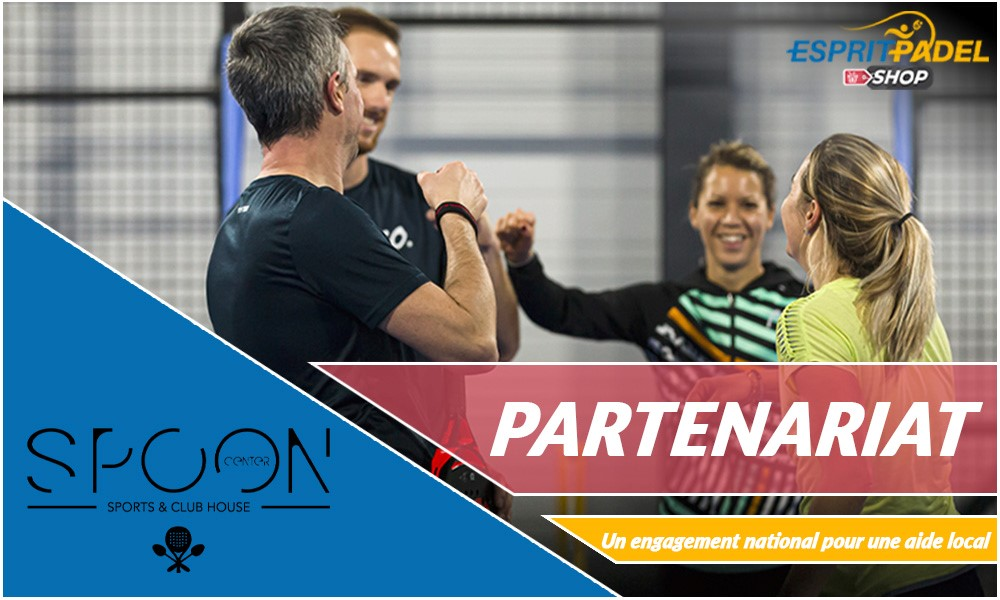 Esprit Padel Shop et le Spoon Center : GO !