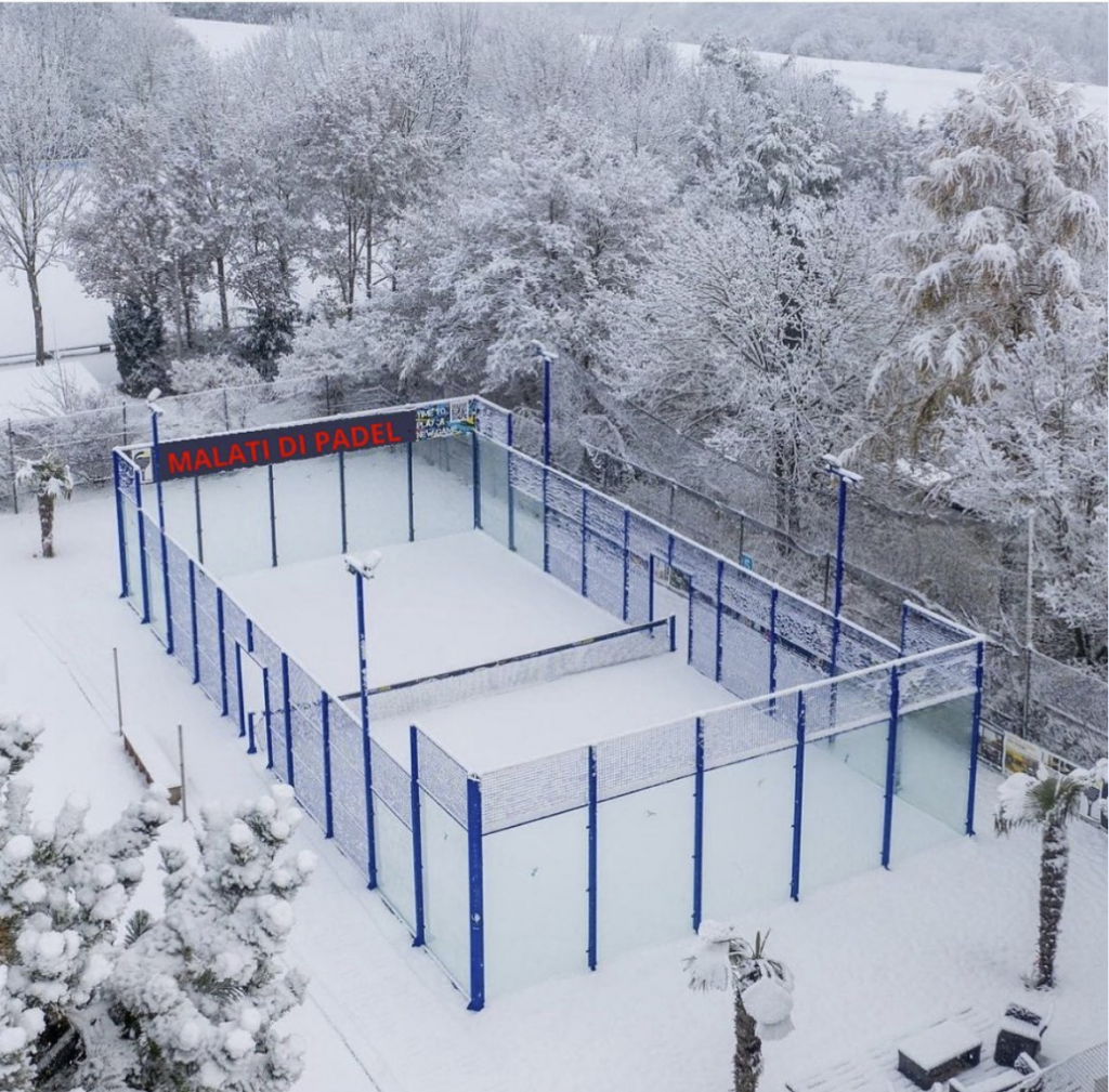 land of padel powder snow
