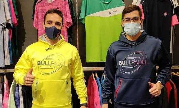 Sergio Alba et Francisco Gil signent chez Bullpadel !