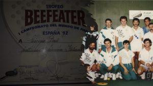 Argentine Italie début padel 1990