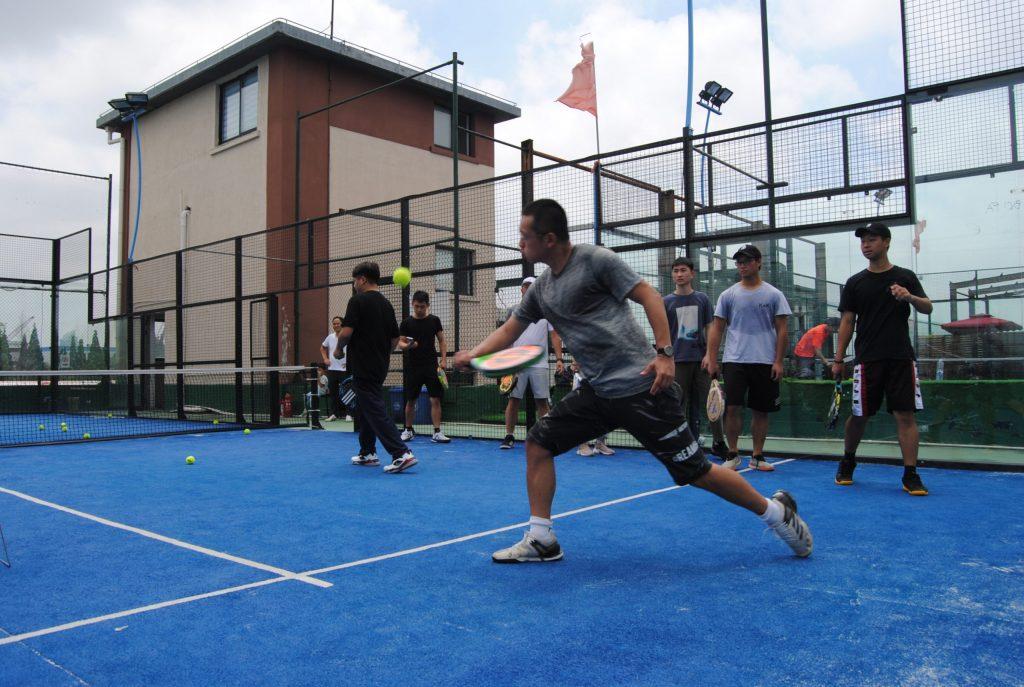 BanShi WangQiu padel chine terrain coaching