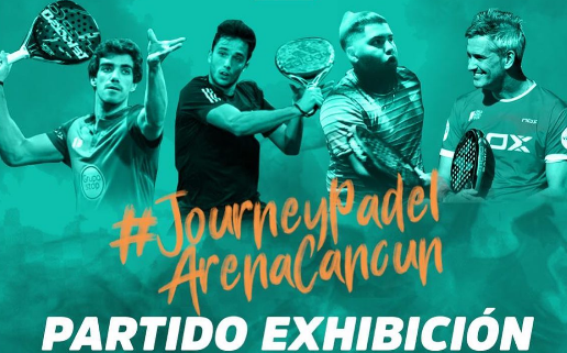 Exhibition Mexico Journey Padel Arena 2021 Lebron Galan Lamperti Aguirre