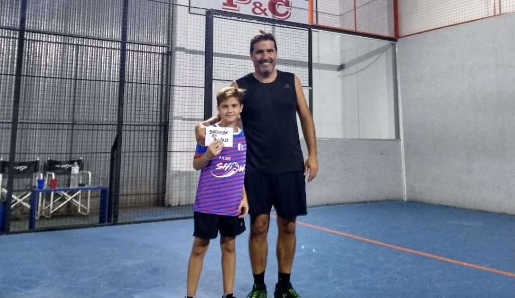 Felipe Trufo jonge Argentijnse speler 9 jaar oud