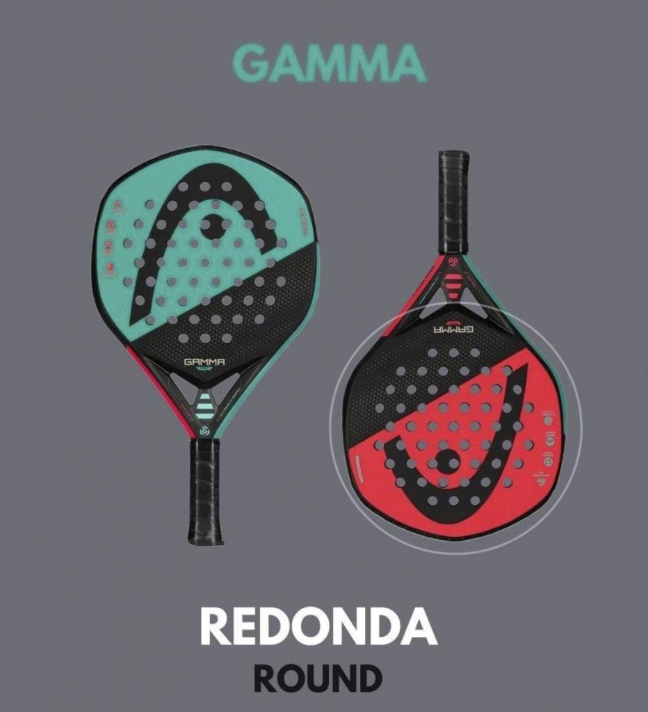 Gama head padel ronde