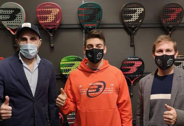 Officiel : Di Nenno signe chez Bullpadel
