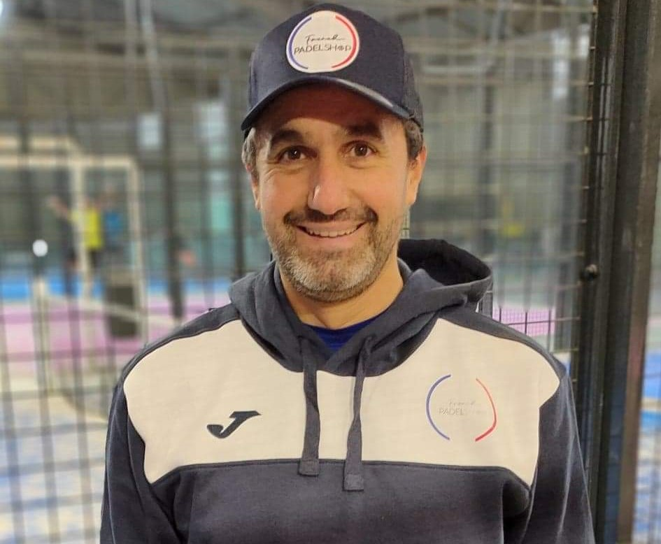Stéphane Penso testeur officiel de French Padel Shop