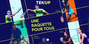 Ten'Up padel figura de análise