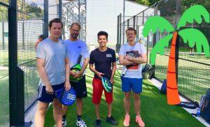 Vinterviken Padel suède 4 joueurs outdoor