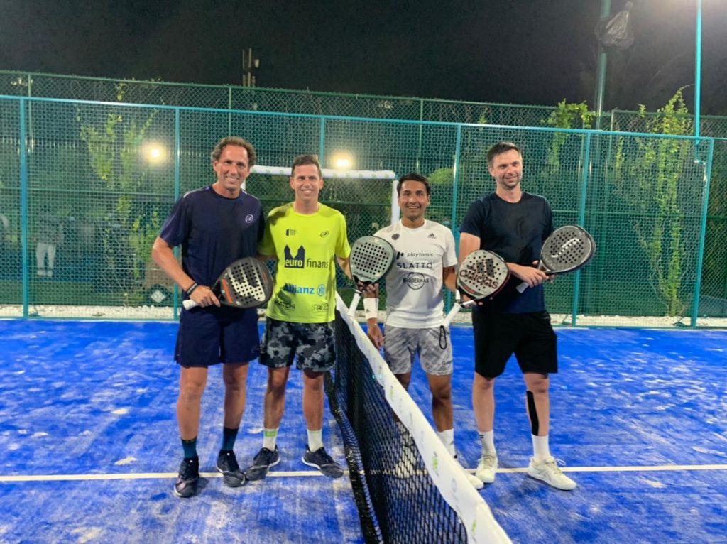 Maldives padel : Söderling / Vasquez vs Auguste / Navarro
