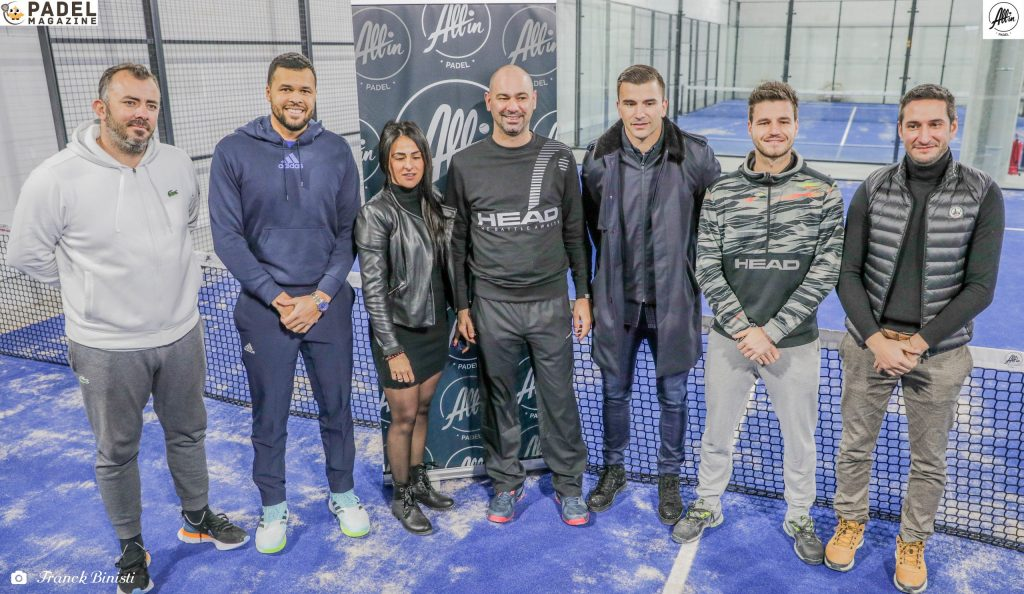 alles in padel team