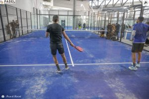 all in padel tsonga lopes bergeron ascione terrains exhibition