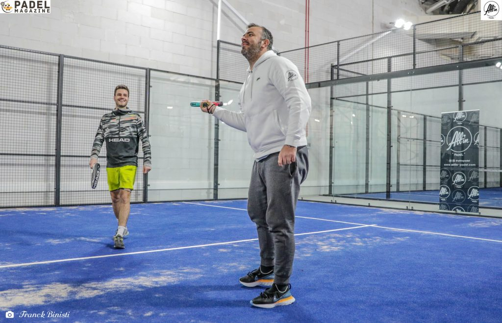 ascione bergeron all in padel Lione