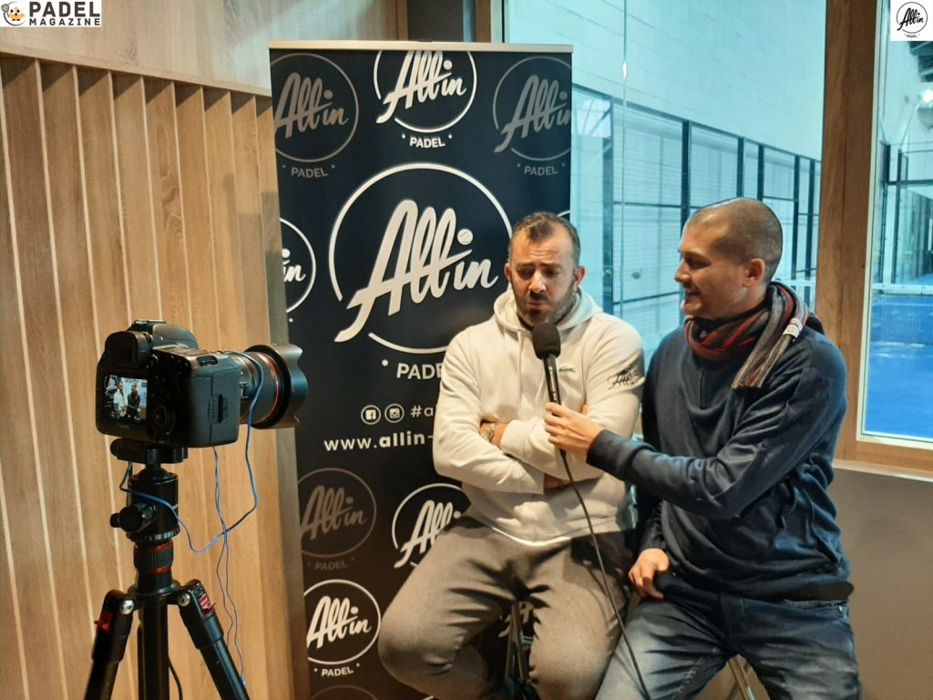ascione padel binisti intervjuar all in