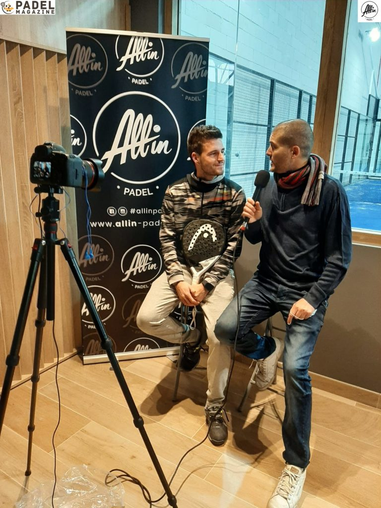 bergeron binisti interview padel