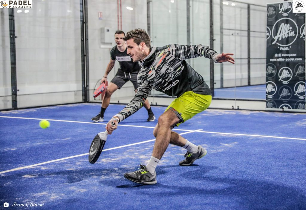 bergeron head padel lopes volée all in