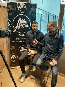 binisti tsonga interview all in padel