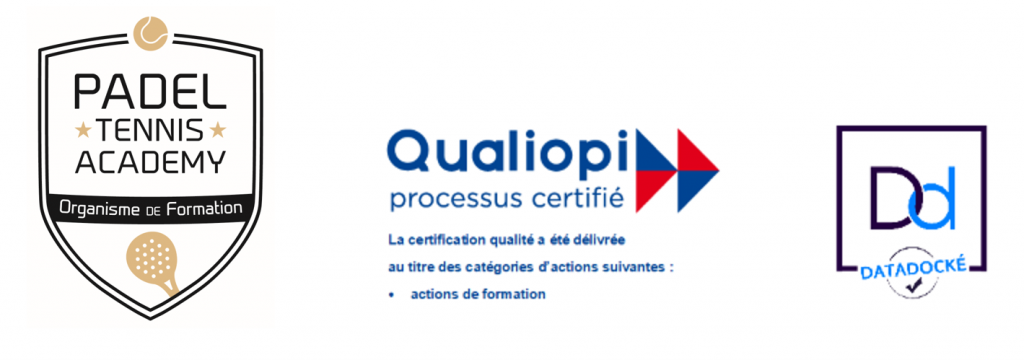 certificats padel formation