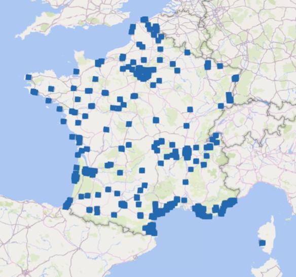 clubs de padel France 2020