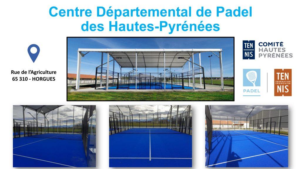 horgues centre departemental padel midi pyrennes