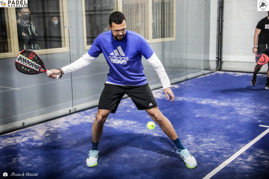 jo tsonga padel dritto all in