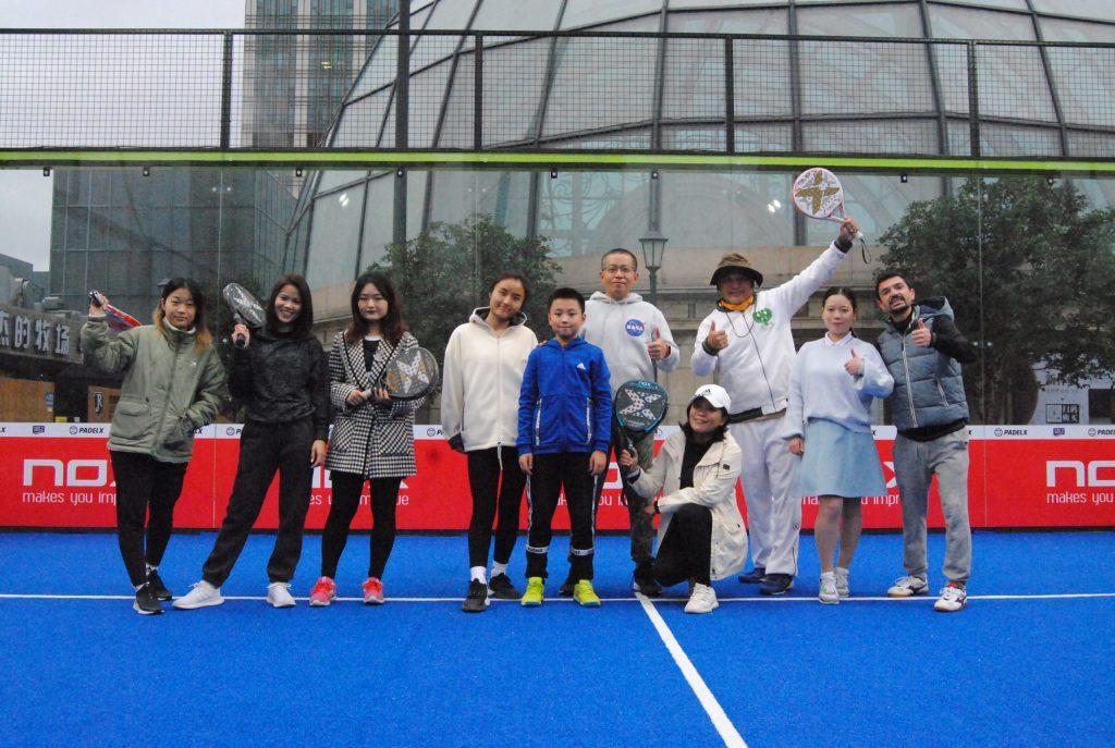 joueurs de padel chinois BanShi WangQiu shangai